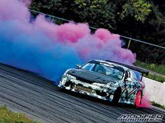 colored smoke drift tires! for your inner toothless yobbo