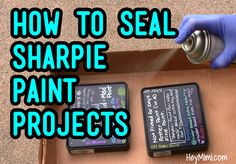 I test water-fastness of Sharpie Paint Pens in both Oil-based and Water-based formulas, after I've sealed them with a clear acrylic matte sealer. I use Sharpie Paint Markers on a rock and on …