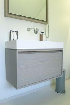 Wash basin Durat Finland.   Bathroom Baden Baden interior  Design and styling Joost Tromp