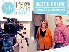 You can watch full seasons of For Your Home online right now! Seasons 25 to 30 are currently available, so why not get yourself caught up before the new season premieres in early 2016. http://bit.ly/1LFxk4A#FYH #VickiPayne