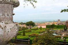view from Villa Lante