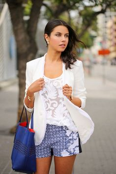 VIVALUXURY - FASHION BLOG BY ANNABELLE FLEUR: BLOOMING BLUES
