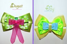 Inside Out Bow Collection por MickeyWaffles en Etsy