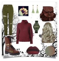 """Autumn"" by tekiii ❤ liked on Polyvore featuring BY. Bonnie Young, River Island, Penny Loves Kenny, AmeriLeather, MICHAEL Michael Kors, Atelier Mon and SkinCare"
