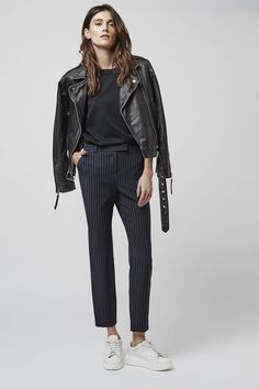 Photo 2 of Pinstripe Cigarette Trousers