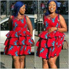 Ankara Short Gowns For Fashionista - Fashion Ruk African American Fashion, African Print Fashion, Africa Fashion, African Prints, African Dresses For Women, African Wear, African Fashion Dresses, African Outfits, African Style