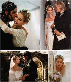 flowers and veil   Top 10 Celebrity Weddings 2012