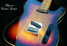Haywire Custom Guitars SunburstWideNutSecial2pickup Hot Gu… | Flickr Telecaster Guitar, Fender Guitars, Guitar Neck, Guitar Body, Guitar Tips, Guitar Building, Custom Guitars, Hot