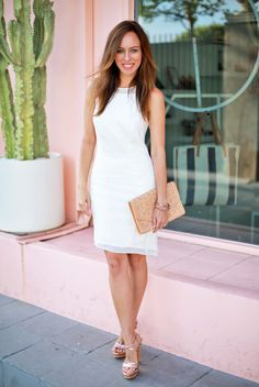 Chic Little White Dress Styles