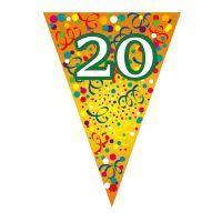 Zászló fűzér, évszámos 20 - Zászlók - Évszámos zászló fűzérek - Party termékek - Szilveszteri és farsangi cikkek webáruháza Accessories, Jewelry Accessories