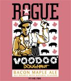 Rogue Voodoo Doughnut Bacon Maple Ale.  Bacon Beer...  Comes straight from the gods.  The nose is pure sweet maple smoke.  The flavor is just like maple syrup but without any sweetness.  The finish leaves a smokey clean taste that lasts.