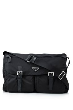 Prada Tessuto Pattina Sling Bag