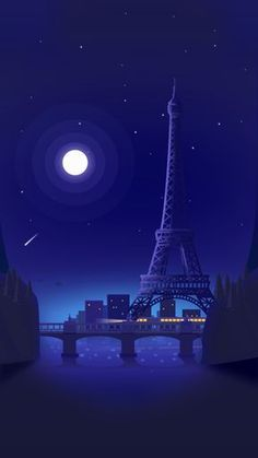 Eiffel Tower in The Night - Paris, French Nature Wallpaper, Cool Wallpaper, Wallpaper Backgrounds, Beautiful Wallpaper, Paris Wallpaper Iphone, Blue Wallpaper Phone, Blue Background Wallpapers, Mobile Wallpaper Android, Wallpapers Geeks