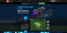 Smart HD Landing Pages by Constantine Xilo, via Behance