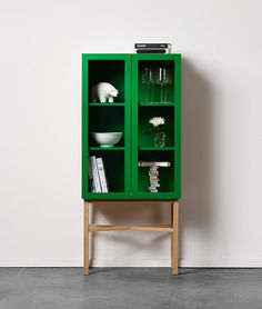 Display cabinet—designed by Sara Larsson, founder and head designer of Sweden company A2.