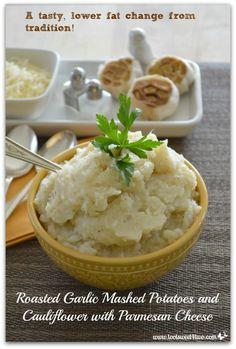 Roasted Garlic Mashe