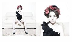 fotografia:MIGUEL VIDAL diseño de vestuario:MARIA ABILLEIRA maquillaje y peluqueria:XELA VAZQUEZ