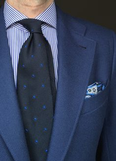 Gran combinación de azules!