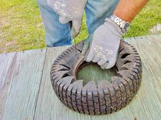 Uses for the old tires we have