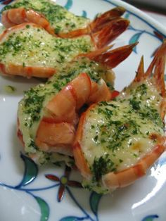 Grilled Shrimp With Mayonnaise Made in a Toaster Oven Prawn Recipes, Oven Recipes, Fish Recipes, Seafood Recipes, Asian Recipes, Appetizer Recipes, Cooking Recipes, Healthy Recipes, Cooking Food