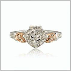 Claddagh Engagement Ring | Irish Claddagh Diamond Rings