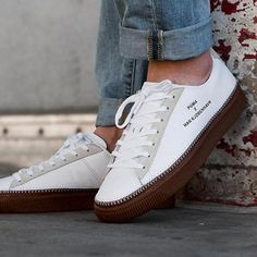 The Clyde has been in focus all year at Puma with a mix of general releases and collaborative designs. For October, the retro basketball silhouette is give Best Sneakers, Vans Sneakers, Running Sneakers, Bata Shoes, Best Hiking Shoes, Sneaker Magazine, Fashion Advertising, Puma Suede, Up Shoes