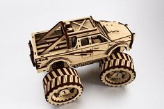 Monster Truck - Puzzle 3D - Other - 3D CAD model - GrabCAD