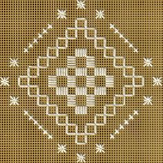 hardanger patterns free | Free Hardanger Patterns - Free Printable Graphs and Lessons for ...