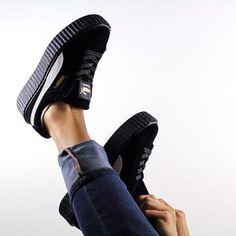 damskie buty puma creeper velvet pack grey • Blog Sneakers.pl
