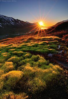 Sunrise at 3 a.m. by Jóhannes Gunnar on 500px