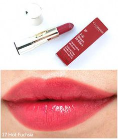 Joli Rouge Brillant #LipstickTutorial Pink Red Lipstick, Sheer Lipstick, Natural Lipstick, Pink Lipsticks, Lipstick Colors, Natural Makeup, Lip Colors, Lipgloss, Lipsticks