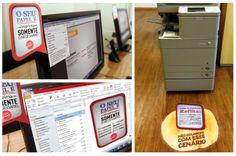 Campanha de Endomarketing para uso consciente do papel de impressão