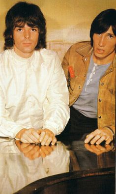 Richard Wright and Roger Waters - Pink Floyd