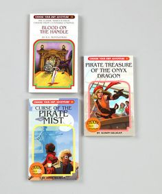 Pirate's Booty Paperback Set by Choose Your Own Adventure on #zulily $12.99 ($21)!