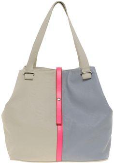 ASOS Neon Stripe Hobo Bag