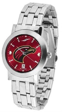 Louisiana-Monroe Warhawks NCAA Mens Modern Wrist Watch by SunTime. $80.95. Stainless Steel Band. Men. Links Make Watch Adjustable. AnoChrome Dial Option. Officially Licensed Louisiana Monroe ULM Warhawks Men's Watch Stainless Steel. The Mens Dynasty AnoChrome Watch has an Elegant design for the modern man who wants to show their team spirit! The dial is presented in a sleek stainless steel case and bracelet that rests fashionably yet comfortably across the wrist....