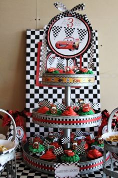 Cars Birthday Party Ideas Unique where Your Idea Of Birthday Celebration Es Disney Car Themed Parties, Cars Birthday Parties, Birthday Celebration, Nascar Party, Race Car Party, Race Cars, Disney Cars Party, Disney Cars Birthday, Race Car Birthday