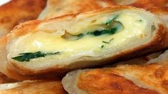Конвертики на кефире с сыром