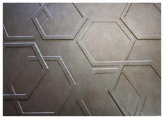 Hexagonal Relief wall