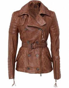 Benedetta Novi Italian leather jacket. Not your typical leather jacket...