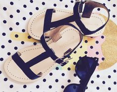 T-bar all leather sandals for girls!!! Addicted!