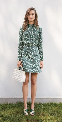 everything about this. (Tory Burch Brigitte blouse + Priscilla skirt)