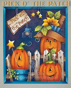 Risultati immagini per country painting halloween