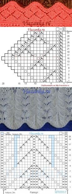 New crochet stitches patterns lace products 44 Ideas Knitting Stiches, Crochet Stitches Patterns, Knitting Charts, Knitting Patterns Free, Hand Knitting, Stitch Patterns, Crochet Pullover Pattern, Knit Edge, Knitting Designs