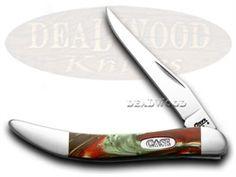 CASE XX Fire Mist Green Toothpick Pocket Knife - CA6077FG | 6077FG