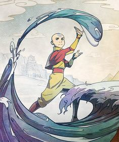 """""""Avatar: The Last Airbender → Anniversary SteelBook Collection "" "" Avatar Aang, Avatar Legend Of Aang, Team Avatar, The Last Avatar, Avatar The Last Airbender Art, Legend Of Korra, Arte Ninja, Avatar Picture, Avatar World"