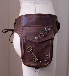 Fashion Bag 2.  This is a double-pocket belt sort of dealie.  I like it but without the silly gears/key that do nothing.