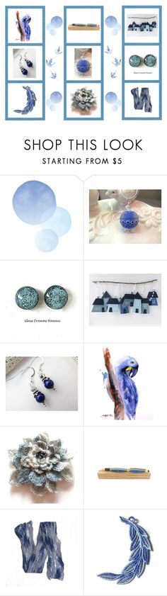 """Blue gifts"" by keepsakedesignbycmm ❤ liked on Polyvore featuring Lazuli, jewelry, accessories and decor"