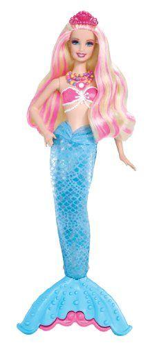 Barbie The Pearl Princess 2-in-1 Transforming Mermaid Doll Mattel