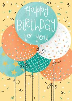 Happy Birthday Clip Art, Birthday Clips, Happy Birthday Wishes Cards, Birthday Blessings, Birthday Wishes Quotes, Bday Cards, Happy Birthday Images, Birthday Pictures, Birthday Fun